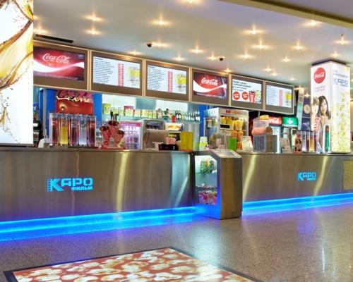 Барная стойка для кислородного, fresh бара, барные стойки для фреш бара, барные стойки для фаст-фуд, барные стойки для клуба, для кинобара