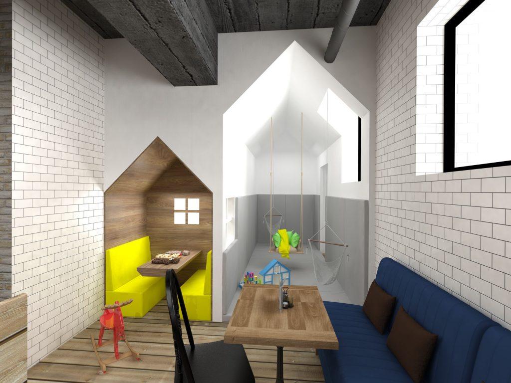 дизайн интерьера кафе